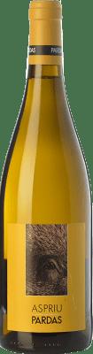 36,95 € Free Shipping | White wine Pardas Aspriu Crianza D.O. Penedès Catalonia Spain Xarel·lo Bottle 75 cl