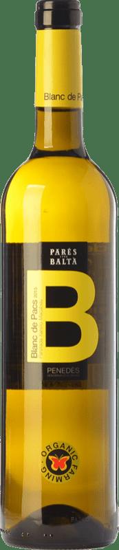 8,95 € Envoi gratuit | Vin blanc Parés Baltà Blanc de Pacs D.O. Penedès Catalogne Espagne Macabeo, Xarel·lo, Parellada Bouteille 75 cl