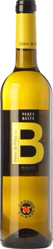 8,95 € Free Shipping | White wine Parés Baltà Blanc de Pacs D.O. Penedès Catalonia Spain Macabeo, Xarel·lo, Parellada Bottle 75 cl