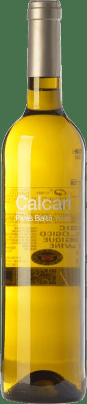12,95 € Envío gratis | Vino blanco Parés Baltà Calcari D.O. Penedès Cataluña España Xarel·lo Botella 75 cl