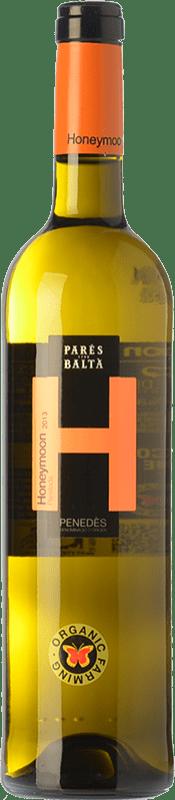 8,95 € Free Shipping | White wine Parés Baltà Honeymoon D.O. Penedès Catalonia Spain Parellada Bottle 75 cl