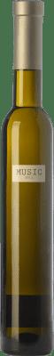 24,95 € Kostenloser Versand | Süßer Wein Parés Baltà Músic D.O. Penedès Katalonien Spanien Chardonnay Halbe Flasche 37 cl