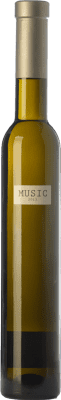 24,95 € Envío gratis | Vino dulce Parés Baltà Músic D.O. Penedès Cataluña España Chardonnay Media Botella 37 cl