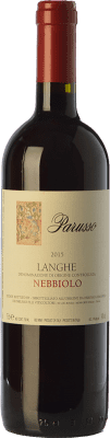 17,95 € Free Shipping | Red wine Parusso D.O.C. Langhe Piemonte Italy Nebbiolo Bottle 75 cl