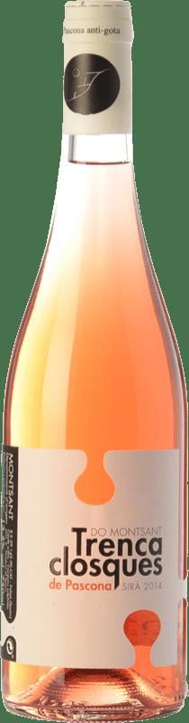 9,95 € Free Shipping | Rosé wine Pascona Trencaclosques D.O. Montsant Catalonia Spain Syrah Bottle 75 cl