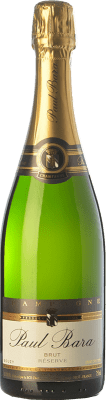 39,95 € Free Shipping | White sparkling Paul Bara Réserve Brut Reserva A.O.C. Champagne Champagne France Pinot Black Bottle 75 cl. | Thousands of wine lovers trust us to get the best price guarantee, free shipping always and hassle-free shopping and returns.