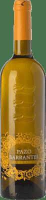 16,95 € Envío gratis | Vino blanco Pazo de Barrantes D.O. Rías Baixas Galicia España Albariño Botella 75 cl