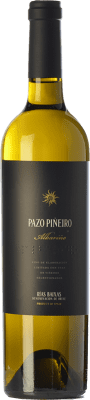 23,95 € Envoi gratuit | Vin blanc Lusco Pazo Piñeiro D.O. Rías Baixas Galice Espagne Albariño Bouteille 75 cl