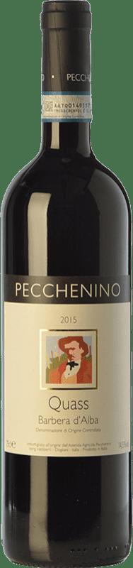 17,95 € Free Shipping | Red wine Pecchenino Quass D.O.C. Barbera d'Alba Piemonte Italy Barbera Bottle 75 cl