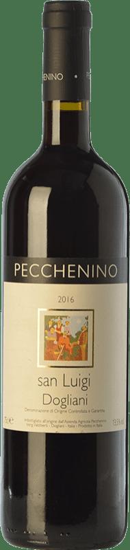 10,95 € Free Shipping | Red wine Pecchenino San Luigi D.O.C.G. Dolcetto di Dogliani Superiore Piemonte Italy Dolcetto Bottle 75 cl