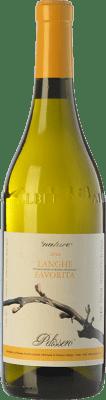 7,95 € Free Shipping | White wine Pelissero D.O.C. Langhe Piemonte Italy Favorita Bottle 75 cl