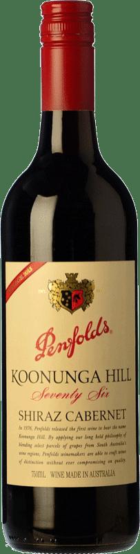 15,95 € Envoi gratuit | Vin rouge Penfolds Koonunga Hill Seventy Six Joven I.G. Southern Australia Australie méridionale Australie Syrah, Cabernet Sauvignon Bouteille 75 cl