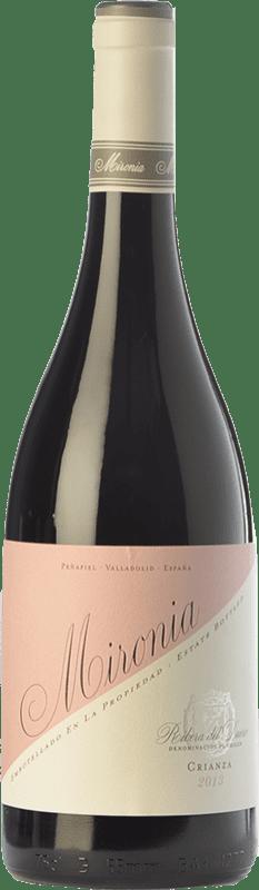 14,95 € Envío gratis | Vino tinto Peñafiel Mironia Crianza D.O. Ribera del Duero Castilla y León España Tempranillo Botella 75 cl