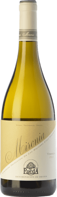 8,95 € Free Shipping | White wine Peñafiel Mironia D.O. Rueda Castilla y León Spain Verdejo Bottle 75 cl