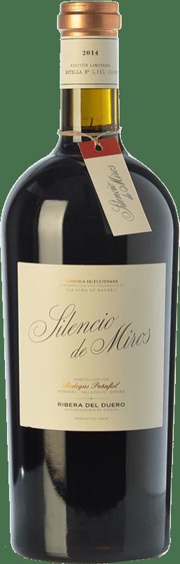 35,95 € Envoi gratuit | Vin rouge Peñafiel Silencio de Miros Joven D.O. Ribera del Duero Castille et Leon Espagne Tempranillo Bouteille 75 cl
