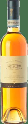 35,95 € Free Shipping | Sweet wine Pèppoli Marchesi Antinori D.O.C. Vin Santo del Chianti Classico Tuscany Italy Malvasía, Trebbiano Toscano Half Bottle 50 cl