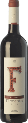 6,95 € Free Shipping | Red wine Pere Guardiola Floresta Criança Crianza D.O. Empordà Catalonia Spain Merlot, Grenache, Cabernet Sauvignon Bottle 75 cl