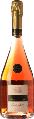 12,95 € Kostenloser Versand | Rosé Sekt Perelada Cuvée Rosé Brut D.O. Cava Katalonien Spanien Trepat Flasche 75 cl