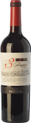 5,95 € Free Shipping | Red wine Perelada 3 Fincas Crianza D.O. Empordà Catalonia Spain Tempranillo, Merlot, Syrah, Grenache, Cabernet Sauvignon, Samsó Bottle 75 cl. | Thousands of wine lovers trust us to get the best price guarantee, free shipping always and hassle-free shopping and returns.