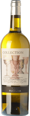 8,95 € Free Shipping | White wine Perelada Collection Blanc Crianza D.O. Empordà Catalonia Spain Chardonnay, Sauvignon White Bottle 75 cl. | Thousands of wine lovers trust us to get the best price guarantee, free shipping always and hassle-free shopping and returns.