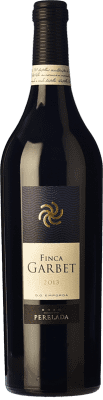 92,95 € Free Shipping | Red wine Perelada Finca Garbet Crianza 2011 D.O. Empordà Catalonia Spain Syrah, Cabernet Sauvignon Bottle 75 cl. | Thousands of wine lovers trust us to get the best price guarantee, free shipping always and hassle-free shopping and returns.