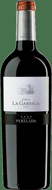 16,95 € Free Shipping | Red wine Perelada Finca La Garriga Crianza D.O. Empordà Catalonia Spain Carignan Bottle 75 cl