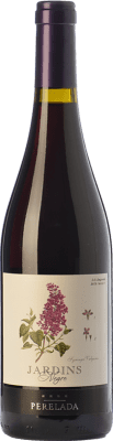 4,95 € Free Shipping | Red wine Perelada Jardins Negre Joven D.O. Empordà Catalonia Spain Merlot, Syrah, Grenache, Cabernet Sauvignon, Monastrell Bottle 75 cl. | Thousands of wine lovers trust us to get the best price guarantee, free shipping always and hassle-free shopping and returns.