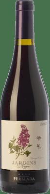 4,95 € Envío gratis | Vino tinto Perelada Jardins Negre Joven D.O. Empordà Cataluña España Merlot, Syrah, Garnacha, Cabernet Sauvignon, Monastrell Botella 75 cl