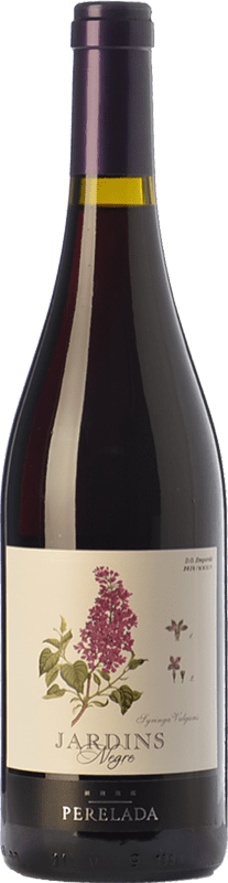 5,95 € Free Shipping | Red wine Perelada Jardins Negre Joven D.O. Empordà Catalonia Spain Merlot, Syrah, Grenache, Cabernet Sauvignon, Monastrell Bottle 75 cl