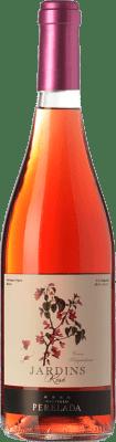 6,95 € Free Shipping | Rosé wine Perelada Jardins Rosat Joven D.O. Empordà Catalonia Spain Merlot, Grenache Bottle 75 cl