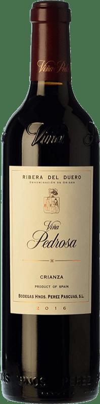 19,95 € Envío gratis | Vino tinto Pérez Pascuas Viña Pedrosa Crianza D.O. Ribera del Duero Castilla y León España Tempranillo Botella 75 cl