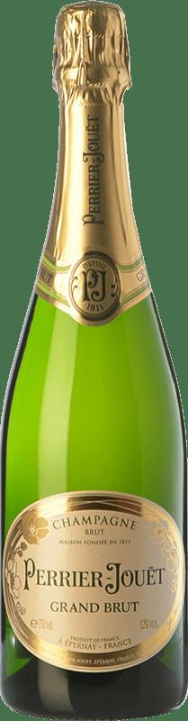 47,95 € Envoi gratuit | Blanc moussant Perrier-Jouët Grand Brut Reserva A.O.C. Champagne Champagne France Pinot Noir, Chardonnay, Pinot Meunier Bouteille 75 cl
