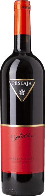 14,95 € Free Shipping | Red wine Pescaja Soliter D.O.C. Barbera d'Asti Piemonte Italy Barbera Bottle 75 cl