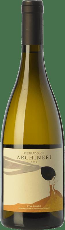 45,95 € Envío gratis | Vino blanco Pietradolce Archineri Bianco D.O.C. Etna Sicilia Italia Carricante Botella 75 cl