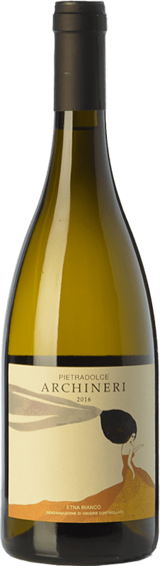 45,95 € Free Shipping | White wine Pietradolce Archineri Bianco D.O.C. Etna Sicily Italy Carricante Bottle 75 cl