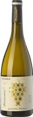 9,95 € Free Shipping | White wine Pinord Diorama Garnatxa Blanca D.O. Terra Alta Catalonia Spain Grenache White Bottle 75 cl