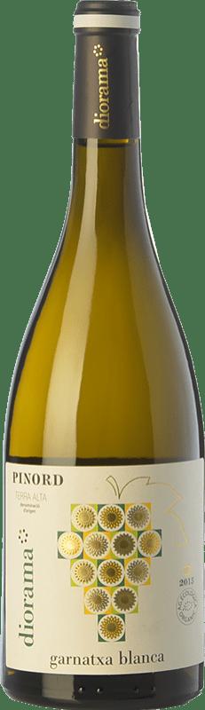 9,95 € Free Shipping | White wine Pinord Diorama Garnatxa Blanca D.O. Terra Alta Catalonia Spain Grenache White Bottle 75 cl