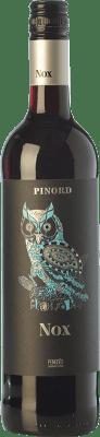 6,95 € Free Shipping | Red wine Pinord NOX Misterio Joven D.O. Penedès Catalonia Spain Tempranillo, Merlot, Cabernet Sauvignon Bottle 75 cl