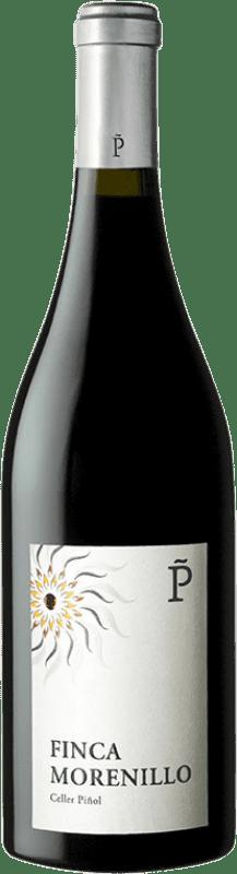 35,95 € Free Shipping | Red wine Piñol Finca Vinyes Velles Crianza D.O. Terra Alta Catalonia Spain Morenillo Bottle 75 cl