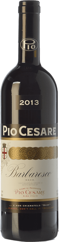 68,95 € Envío gratis | Vino tinto Pio Cesare D.O.C.G. Barbaresco Piemonte Italia Nebbiolo Botella 75 cl