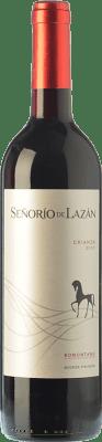 7,95 € Free Shipping | Red wine Pirineos Señorío de Lazán Crianza D.O. Somontano Aragon Spain Tempranillo, Merlot, Cabernet Sauvignon Bottle 75 cl