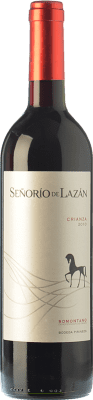 9,95 € Envoi gratuit | Vin rouge Pirineos Señorío de Lazán Crianza D.O. Somontano Aragon Espagne Tempranillo, Merlot, Cabernet Sauvignon Bouteille 75 cl