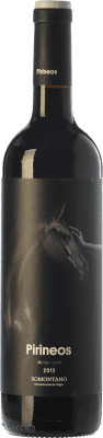 8,95 € Envoi gratuit | Vin rouge Pirineos Merlot-Syrah Joven D.O. Somontano Aragon Espagne Merlot, Syrah Bouteille 75 cl