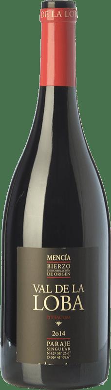 15,95 € Envío gratis | Vino tinto Pittacum Val de la Loba Crianza D.O. Bierzo Castilla y León España Mencía Botella 75 cl