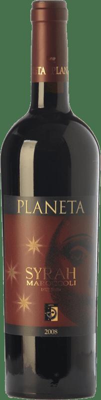 19,95 € Free Shipping   Red wine Planeta Maroccoli Crianza I.G.T. Terre Siciliane Sicily Italy Syrah Bottle 75 cl