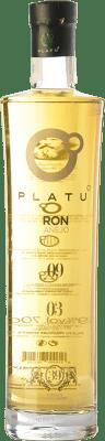 24,95 € Envío gratis | Ron Platu Añejo Galicia España Botella 70 cl