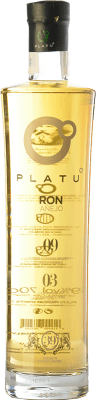 29,95 € Free Shipping | Rum Platu Añejo Galicia Spain Bottle 70 cl