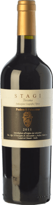 24,95 € Free Shipping | Red wine Il Palazzino Stagi I.G.T. Toscana Tuscany Italy Colorino Bottle 75 cl