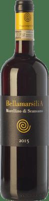 11,95 € Free Shipping | Red wine Poggio Argentiera Bellamarsilia D.O.C.G. Morellino di Scansano Tuscany Italy Sangiovese, Ciliegiolo Bottle 75 cl
