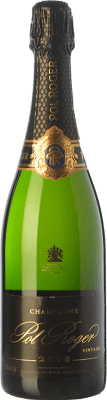 68,95 € Free Shipping | White sparkling Pol Roger Vintage Brut 2008 A.O.C. Champagne Champagne France Chardonnay Bottle 75 cl. | Thousands of wine lovers trust us to get the best price guarantee, free shipping always and hassle-free shopping and returns.